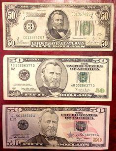 history 50 dollar bill front
