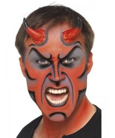 Theatrical Effect Devil Stack Makeup | HOLIDAY - HALLOWEEN ...