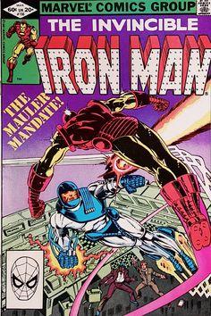 Iron Man Comic Book #162 Marvel Comics 1982 VERY FINE//NEAR MINT NEW UNREAD