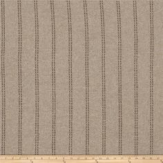 Fabricut Rex Stripe Earth from @fabricdotcom  This lovely woven fabric is perfect for draperies, valences, and upholstery projects.  Fabric features 15,000 double rubs.