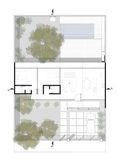 imagen de de la galera de la escondida nou arquitectos planta nivel