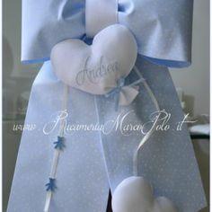 fiocco di nascita palloncini celeste