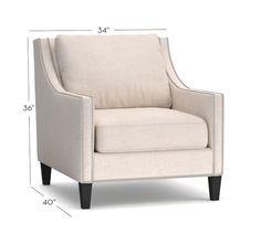 Pasadena Upholstered Armchair