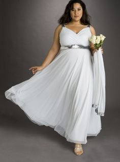 White Spaghetti Deep V-neck Floor Length Satin Plus Size Wedding Gown on sale, a perfect V-neck Wedding Dresses with high quality and nice design. Buy it now or discover your V-neck Wedding Dresses Plus Size Bridal Dresses, Plus Size Wedding Gowns, Bridesmaid Dresses Plus Size, Plus Size Gowns, Country Wedding Dresses, Wedding Dresses Plus Size, Bride Dresses, Dresses Uk, Pretty Dresses