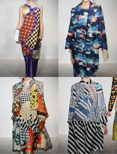 Digital Matisse looks – Basso and Brook Fall 2012