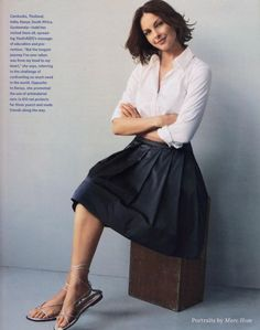 Ashley Judd - 2008 Town & Country Magazine, June Issue