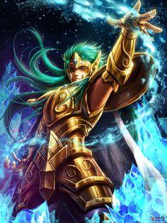 Cavaleiro de Ouro - Camus de Aquario by SONICX2011.deviantart.com on @DeviantArt