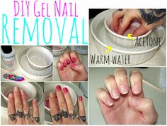 Lulu and Sweet Pea: DIY Gel Nail Removal