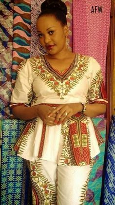Absolutely loooooove this dashiki outfit