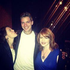 Zoey deutch, Dominic Sherwood & Richelle Mead