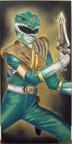 Green Power Ranger by barkydog2000.deviantart.com