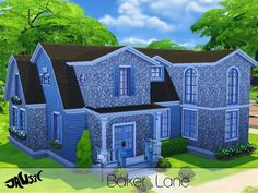 The Sims Resource: Baker Lane by Jaws3 • Sims 4 Downloads