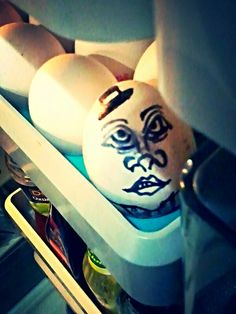 Hello there you creepy eggy