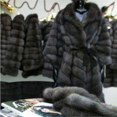 Sable Fur Coat, 1950s, Jackets, Fashion, Fur, Down Jackets, Moda, Fashion Styles, Fashion Illustrations