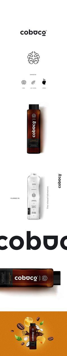 cobuco Iced Coffee by Brain&Bros DZ. Coffee Logo, Coffee Branding, Iced Coffee, Logo Branding, Coffee Packaging, Graphic Design Branding, Stationery Design, Identity Design, Logo Design