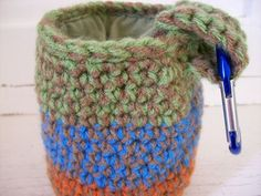 67597f29203 INSTANT DOWNLOAD - Crochet Rock Climbing Chalk Bag Pattern