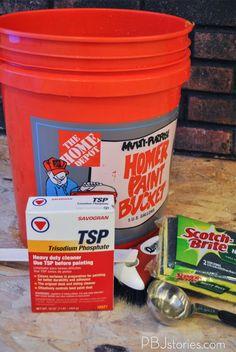 PBJstories: How to Paint an Interior Brick Wall | #PBJreno