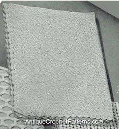 Crochet Baby Blanket Pattern:  Free Cozy Baby Blanket Pattern