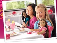 American Girl Cafe. I you have allergies, the chef will take great care of you! Make sure to mention your allergy when you make the reservation. If you make reservations online, click on the allergy list & note your allergy!