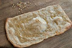 Receta: Coca, Pizza o Crackers de Trigo Sarraceno Fermentado (sin gluten) Veggie Recipes, Real Food Recipes, Yummy Food, Healthy Recipes, Yummy Recipes, Healthy Food, Snacks Saludables, Bread Machine Recipes, Bread Baking
