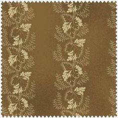 Tan Floral Stripe, Civil War Era c. 1865. $4.95, via Etsy.