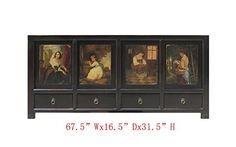Black French Women Oil Hand Painting Buffet Table Tv Stand Cabinet Awk2788 A Small Cabinet http://www.amazon.com/dp/B004YQMOI2/ref=cm_sw_r_pi_dp_1K29vb075G7TJ
