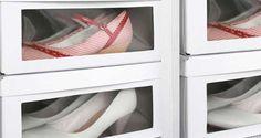 Un rangement chaussures organisé c'est une question de place et de budget. Déco Cool a trouvé des DIY Déco pour rangerses chaussures à pas cher