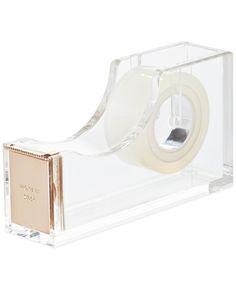 kate spade new york Make It Stick Acrylic Tape Dispenser - Handbags & Accessories - Macy's