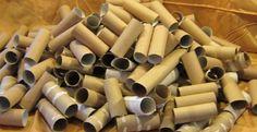 Tout un tas de rouleaux de papier hygiénique! C'est surprenant de voir tout ce qu'ils en ont fait! - Bricolages - Trucs et Bricolages