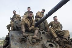 "Brad Pitt's War Movie ""Fury"" Is A Manly Tearjeaker"