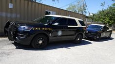 Florida Highway Patrol (FHP) Ford Police Interceptor Utili… Ford Police, Police Cars, Police Vehicles, Emergency Vehicles, Police Car Pictures, Role Play, Cool Cars, Squad, Florida