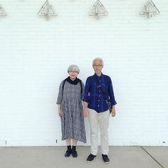 2015年8月 季節外れの写真ですみません大好きな青森県立美術館にて #couple #over60 #fashion #coordinate #outfit #ootd #instafashion #instaoutfit #instagramjapan #whitehair #silverhair #greyhair #夫婦 #60代 #ファッション #コーディネート #夫婦コーデ #グレイヘア #白髪 #共白髪