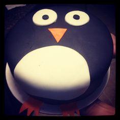 Best Photo of Penguin Birthday Cake Penguin Birthday Cake My Penguin Birthday Cake Super Easy To Make Eva Wants Pink Birthday Cake 30, Penguin Birthday, Penguin Party, Cake Decorating For Kids, Penguin Cakes, Bird Cakes, Novelty Cakes, Cake Tutorial, Celebration Cakes