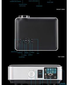 Movie-like Home Theater Projectors For Entertainment Best Home Theater, At Home Movie Theater, Home Theater Speakers, Home Theater Design, Home Theater Projectors, Best Surround Sound, Portable Projector, Computer Network, Office And School Supplies