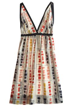 Mondrian Print Dress : Calypso St. Barth