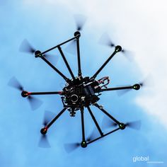 Fly high in the sky with #DJI S1000 spreading wings