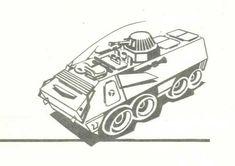 OT-64 SKOT APC Free Vehicle Paper Model Download