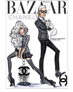 Disney's #Elsa x #KarlLagerfield = Harper's Bazaar '16 by @ponyy_boyy| Be Inspirational ❥|Mz. Manerz: Being well dressed is a beautiful form of confidence, happiness & politeness