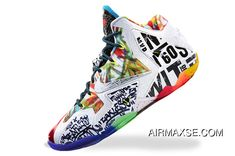 the best attitude a51e4 9481f Discount Nike LeBron 11 What The LeBron Black Lava Silver Ice-Galaxy Blue