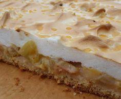 Rezept Rhabarber-Blechkuchen von Thermofel2014 - Rezept der Kategorie Backen süß