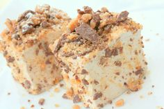 YES Please!! Chocolate English Toffee Bar Gourmet Marshmallows!!