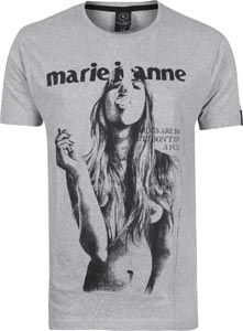 Candy for Richmen Marie Jeanne T-shirt grey heather