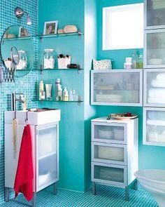 Propuestas para que organizar tu baño sea fácil pero siempre con estilo...