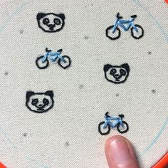 What goes with pandas and bicycles? Check back later, and you'll find out!