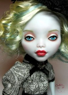 OOAK Monster High Lagoona Repaint Dressed Doll by Circlerose
