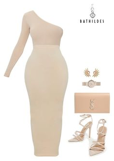 """""""Untitled #115"""" by styledbybathildes ❤ liked on Polyvore featuring Yves Saint Laurent, Hipanema and FOSSIL"""