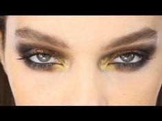 Dramatic Runway Metallic Eyes Look - Makeup Tutorial