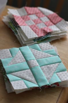 Free Patchwork Quilt Along Blocks from the Fat Quarter Shop