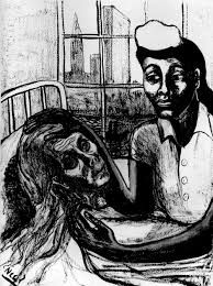 Image result for alice neel drawings