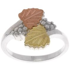 Hills Gold and Silver Ladies Ring